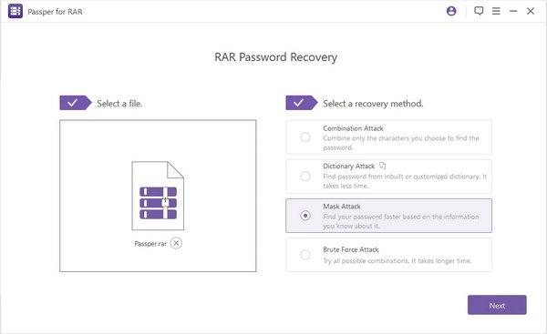UUkeys RAR Password Unlocker - Open Protected RAR File