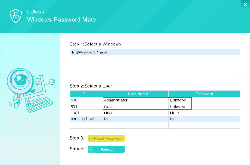 How to Remove Windows 7 Password without Logging in